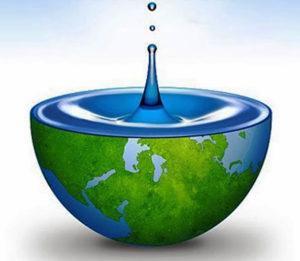 Spara vatten mål, miljövänlig