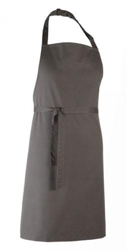 Bröstförkläde-PR150-mörkgrått