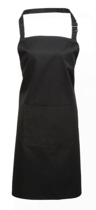 Bröstförkläde PR154 svart