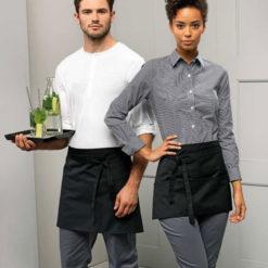 Kort-midjeförkläde-PR109-Rymliga fickor