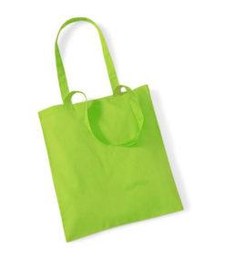 Tygpåse W101-lime-grön