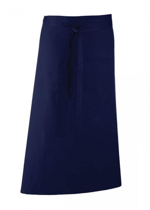 Midjeförkläde-PR158-Marinblå